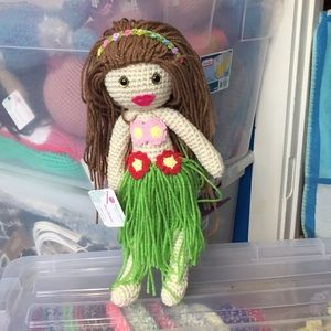 Lovely Hula Girl Doll. Handcrafted with love ❤️